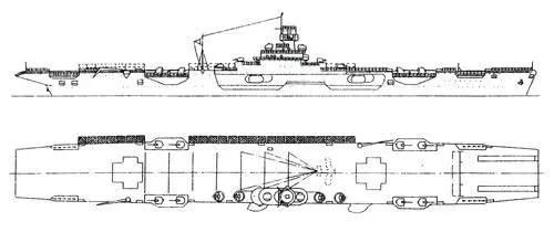 蘇聯二戰差點就有航空母艦:這條大船苦等三十年出廠