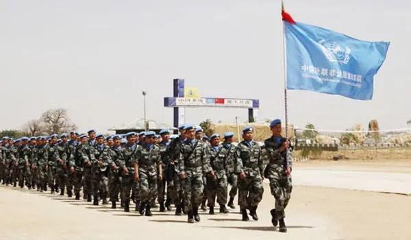 駐蘇丹維和部隊4個月6次遇襲 中國軍人堅守一線