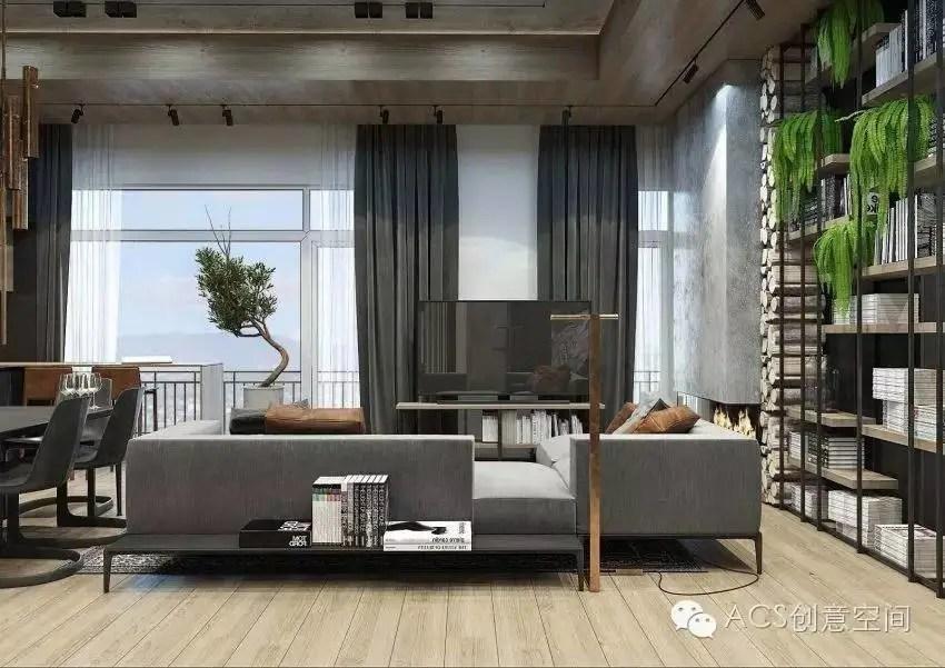 高級灰走進這間公寓後,整個格調都不一樣了