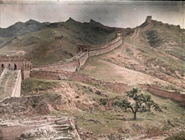 珍貴!100年前中國的彩色照片