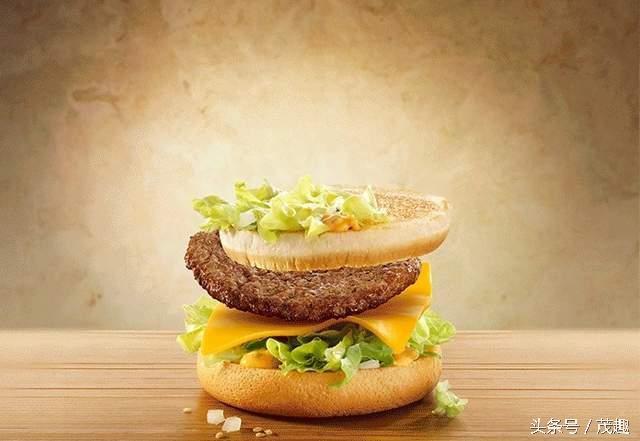 麥當勞最不想讓人看到的一張動圖,PS果真天下無敵