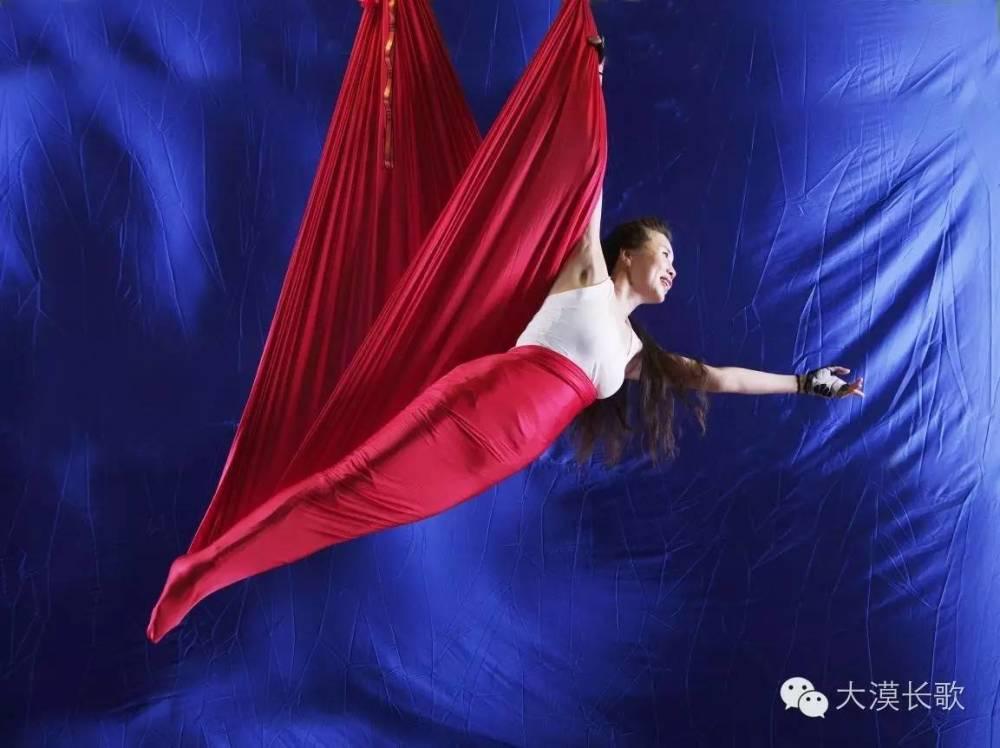 喀什首現空中瑜伽——釋放靈魂的高空之旅