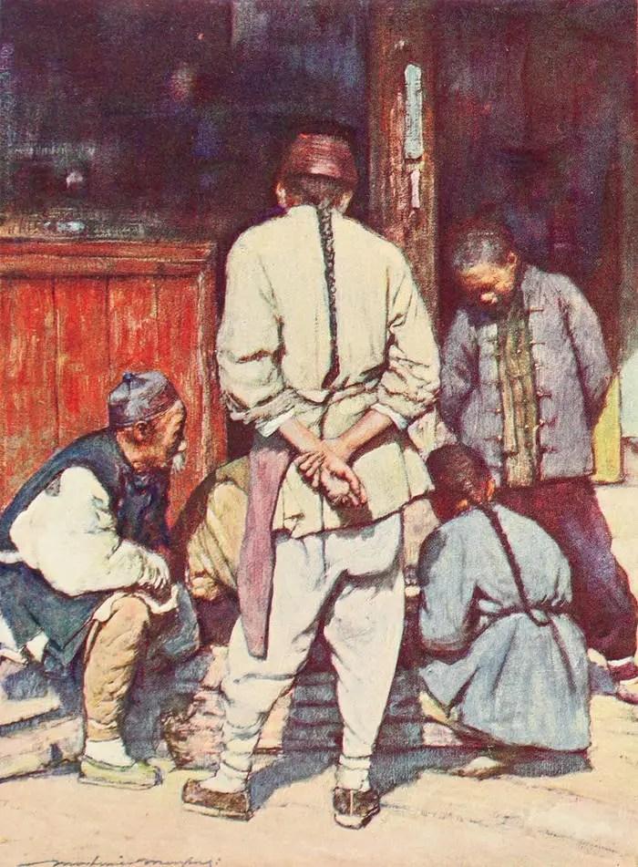 淘藝術:19世紀80年代末中國街頭插畫