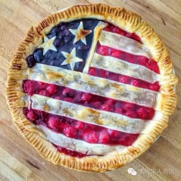 美國人是這樣愛美國滴——真的比不了