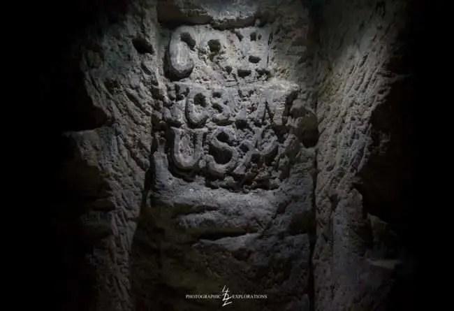 一戰時期戰爭隧道,沒想到裡面「比博物館還精彩」