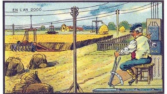 創意來源於創想,看看1800年代的先人們暢想未來