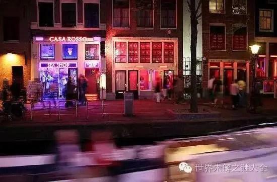 探秘世界上最受歡迎的十大紅燈區