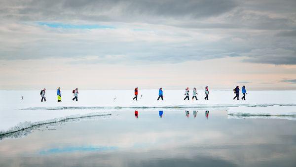 受困南極海域的攝影師有驚無險,帶回珍貴紀錄照片