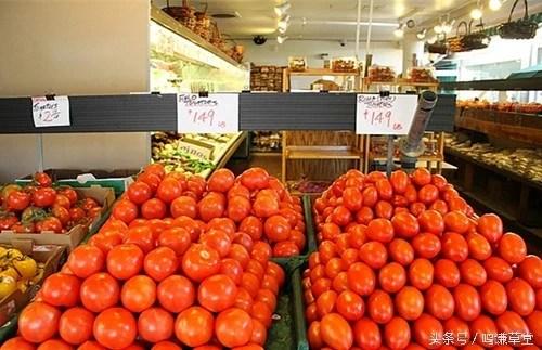 直擊美國真實的農貿市場
