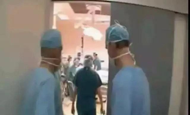 肚子都要撐破了一胎11個孩子!10多個醫生接生!