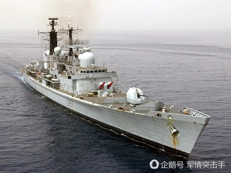 中國差點引進英國驅逐艦?孰料後者竟被「飛魚」打癱