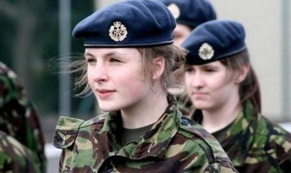 女兵數量最多的5大國家,這方面我們不是世界第一