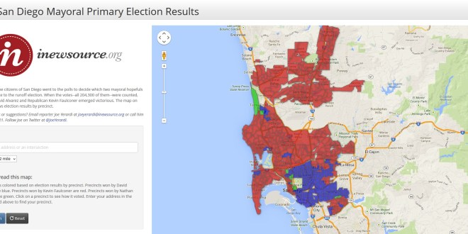 2013 San Diego Mayoral Primary Results