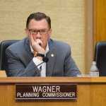 Planning Commissioner Anthony Wagner at the San Diego planning commission meeting on Aug. 11, 2016. Megan Wood, inewsource.