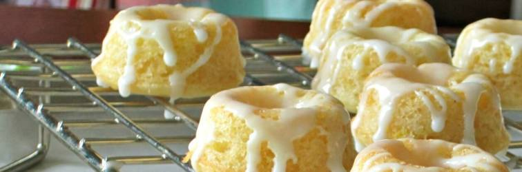 Lemon Donuts with Lemon Glaze for the Virtual Vegan Potluck