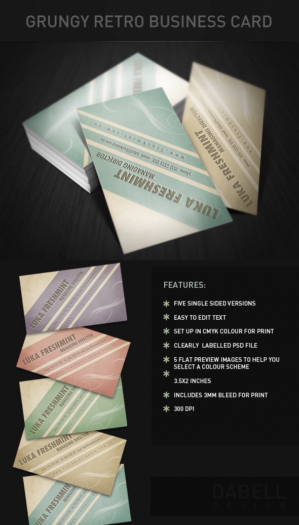 Grungy-Retro-Business-Card-Preview