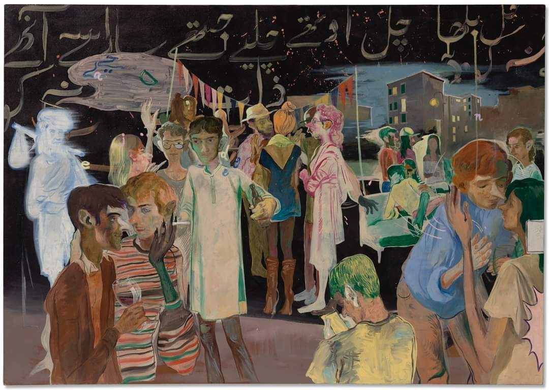 Artist sells priciest painting ever sold by a Pakistani at a staggering USD 822,000