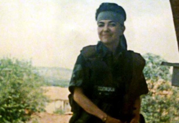 Сладжана Станкович-храбрая женщина в сербской армии