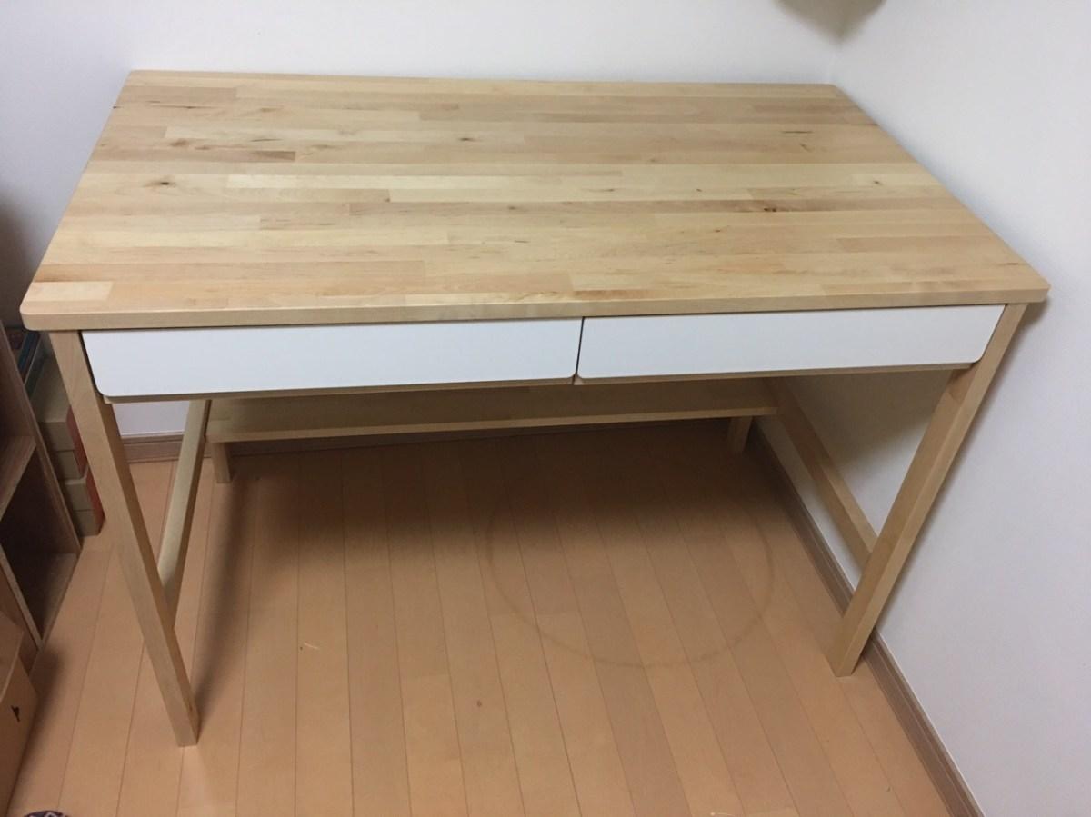 IKEA『KUNSKAP(クンスカプ)子供用デスク』を作ってみたpart.1