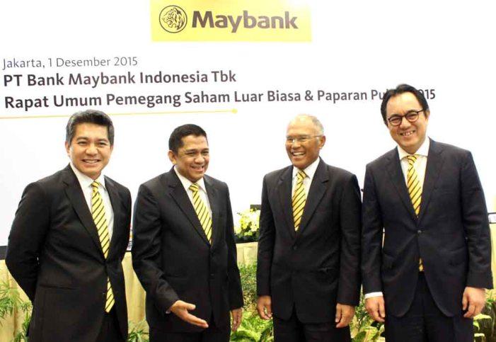 Maybank Indonesia Punya Direktur Baru