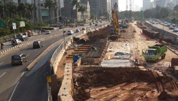 Realisasi  Pembangunan Infrastruktur Mencapai Rp97 Triliun