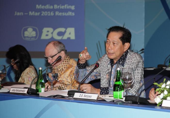 Kredit BCA Tumbuh 11,4% di Kuartal I 2016