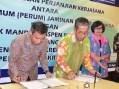 Perum Jamkrindo Jalin Kerjasama Penjaminan dengan Bank Mantap