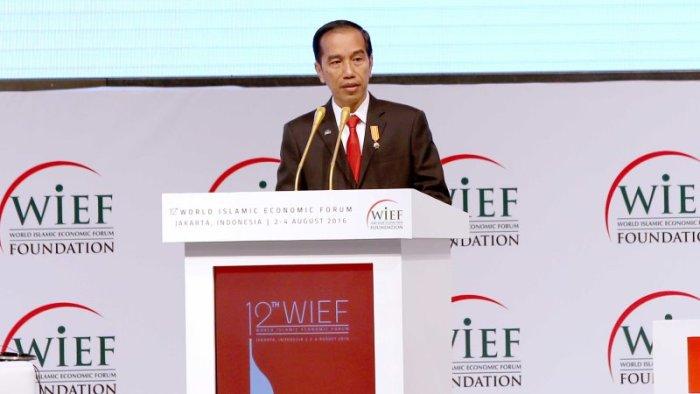 Jokowi : WIEF, Kekuatan Islam Untuk Mengubah Ekonomi Dunia