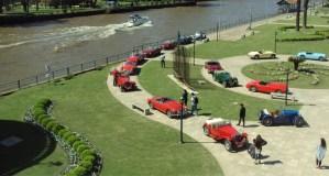 MG Club Argentina celebro sus 40 años en los jardines del MAT