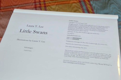 Little Swans manuscript (by Laura T. Lee)