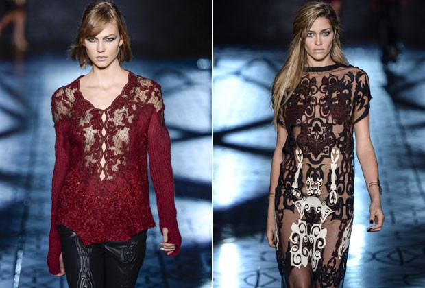 KARLIE KLOSS ESTEVE NO DESFILE DA ANIMALE (Foto: Getty Images)