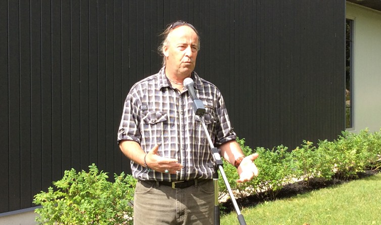 Jean Paradis lance sa campagne pour la mairie de Lac-Sergent
