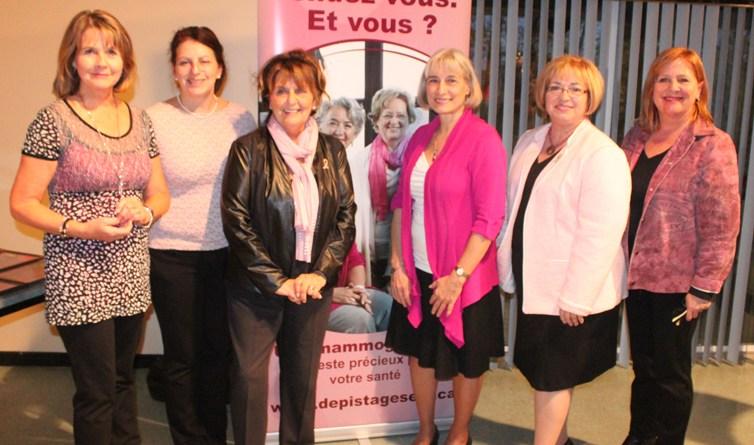 Dépistage du cancer du sein : le PQDCS souligne la contribution de ses partenaires