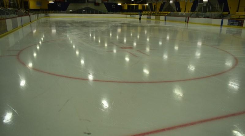 La « nouvelle » glace de l'aréna