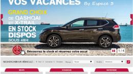 site de Nissan