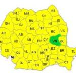 Harta Romania - Vrancea