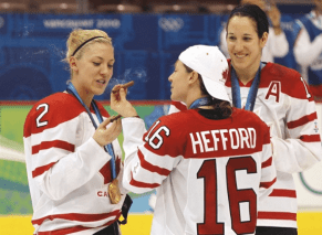 Canadian Womens Hockey Team Party Like Rock Stars