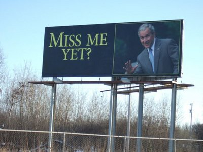 bush miss me Bush: Miss Me Yet? Billboard
