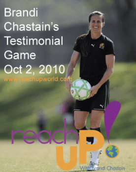 chastain reach up 276x350 Honoring Brandi Chastain
