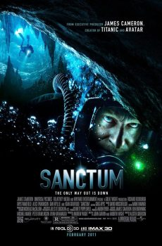 sanctum poster 230x350 James Camerons Sanctum   Contest !!