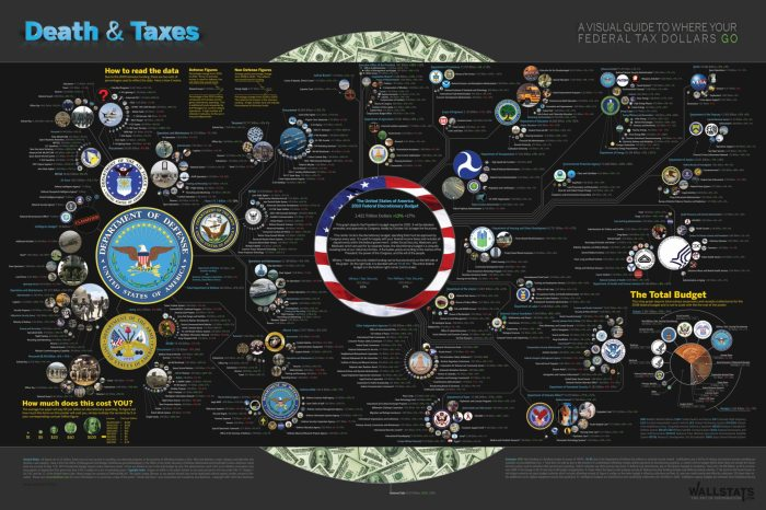 Where Your Tax Dollars Go [infographic]