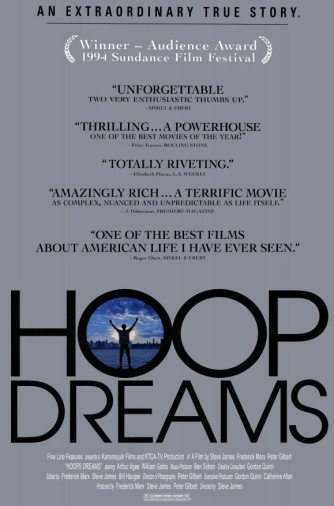 1994 hoop dreams poster1 The 10 Best Basketball Films of All Time!!