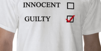 Innocent or Guilty shirt