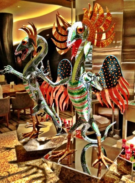 bacchanal buffet caesars palace art $17,000,000 Bacchanal Buffet Delights And Surprises at Caesars Palace Las Vegas
