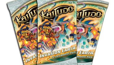 Kaijudo Invasion Earth boosters