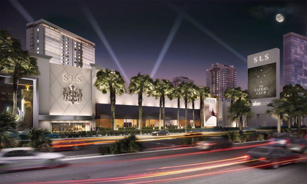SLS Las Vegas is OPEN