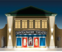 Theater Building Vector Conversion