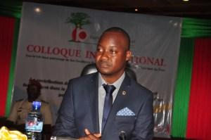 Harouna Kaboré a remercié tous les participants à ce colloque