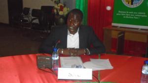 Le représentant du Système des Nations-Unies, Daouda Djouma