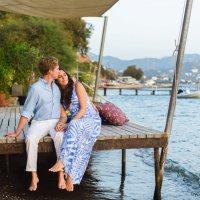 Beach Engagement in Yalikavak :: Derin + Collin
